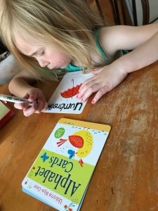Wipe – Clean Alphabet Cards Review — Usborne Books & More